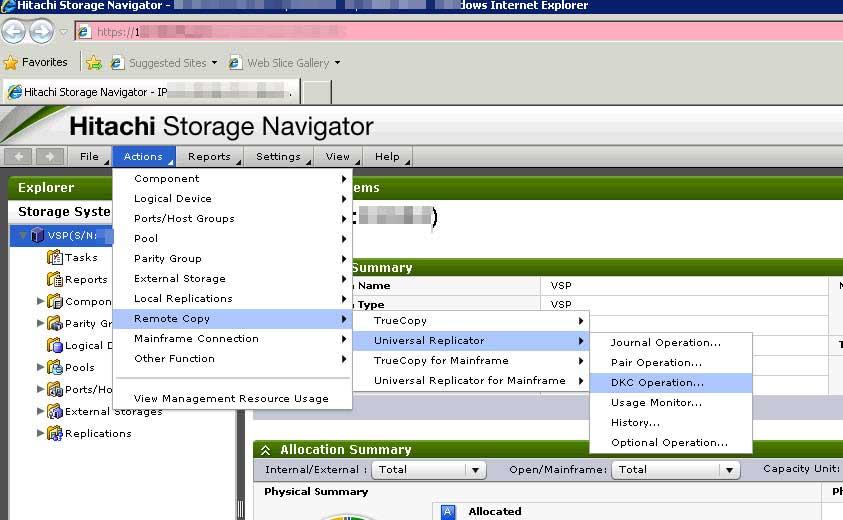 hur step by step config tohds rh tohds com hitachi storage navigator guide Hitachi Enterprise Storage